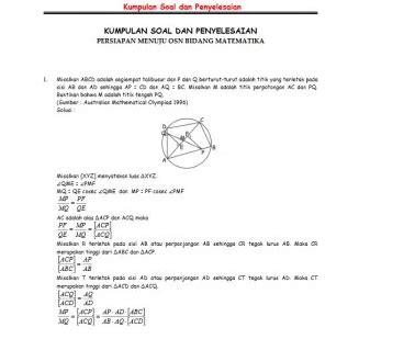 Bentuk contoh soal fungsi matematika biasanya menanyakan daerah asal yang memenuhi daerah sebuah fungsi atau hasil operasi fungsi. Contoh Soal Matematika SMA dan penyelesaiannya | Belajar ...