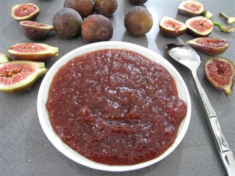 cuisiner figues fraiches chutney
