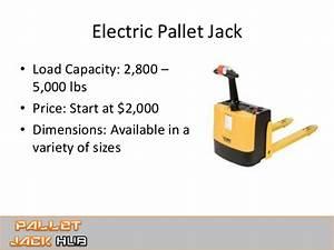 Pallet Jack Types