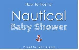jar baby shower nautical baby shower ideas peachfully chic