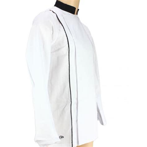 veste de cuisine homme noir veste de cuisine blanche avec liseré noir manches longues