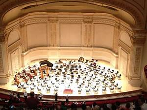 Carnegie Hall Stage - Bing images