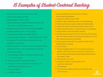 Examples Centered Teaching Student Pedagogy Client