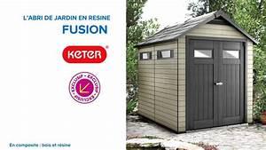 Abri De Jardin En Rsine Fusion 759 KETER 676227