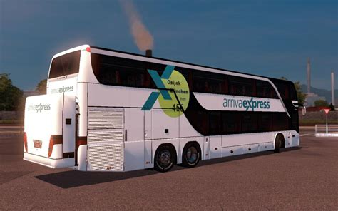 setra  dt ic bus skin  mod euro truck simulator  mods