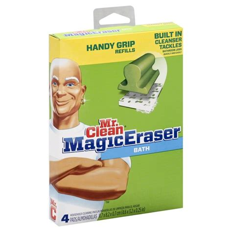 mr clean household cleaning pads handy grip refills