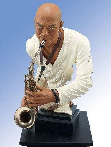 mojo working   jazz figurine   black thangcom