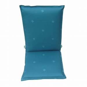 Fauteuil Bleu Pétrole : coussin pour fauteuil solea bleu p trole r f 2474682 ~ Teatrodelosmanantiales.com Idées de Décoration