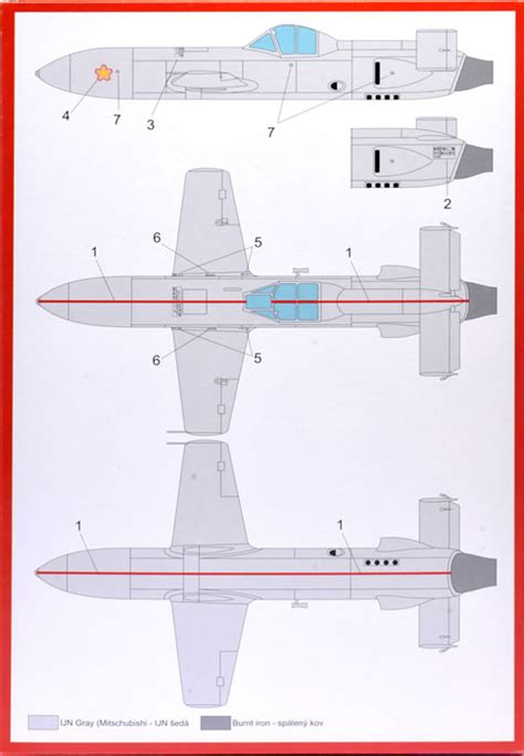 Brengun Kit No Brp48002 Yokosuka Mxy7 Ohka Model 22
