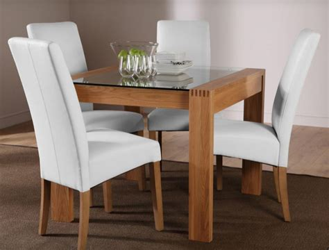7 Contemporary Glass Square Dining Tables  Cute Furniture Uk