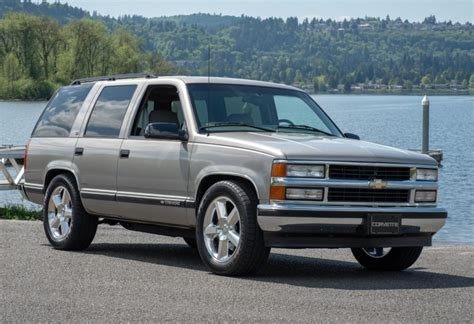 1998 Chevrolet Tahoe ls9 powered 1998 chevrolet tahoe for sale on bat auctions