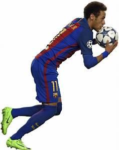 Neymar football render - 35009 - FootyRenders