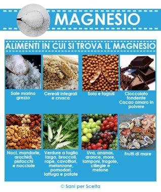In Quali Alimenti Si Trova Il Magnesio by Magnesio Perch 233 Assumerlo Ogni Giorno Sani Per