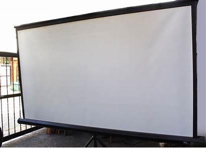 Projector Screen Clean