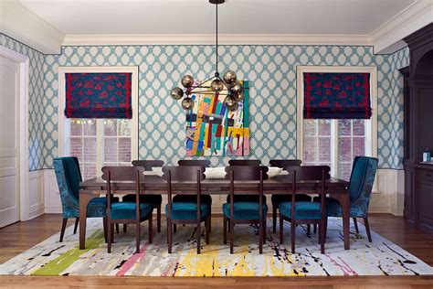 visual feast  eclectic dining rooms drenched