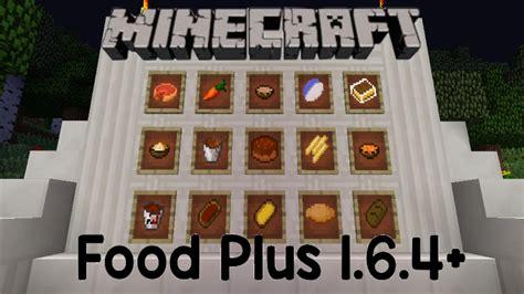 mod鑞es cuisines minecraft mod review food plus mod 1 6 4