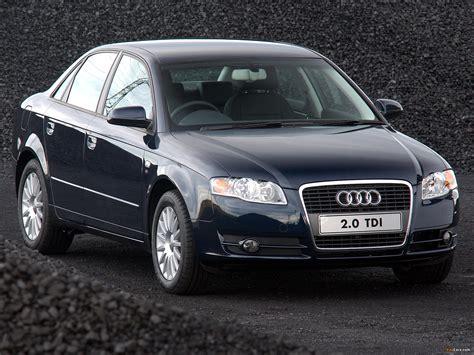 Pictures of Audi A4 2.0 TDI Sedan ZA-spec B7,8E (2004–2007 ...