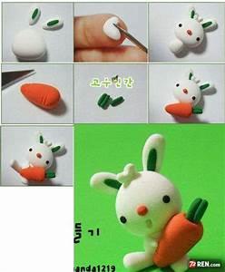 Tuto Pate Fimo : tuto fimo modelage de lapinous paperblog ~ Dode.kayakingforconservation.com Idées de Décoration