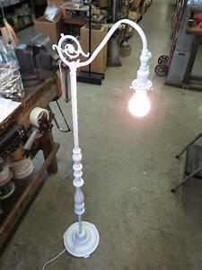 floor lamps floor lamp base weight parts replacement With antique floor lamp repair