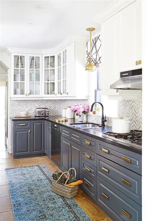 gray lower kitchen cabinets design ideas