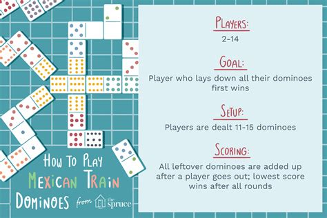 play mexican train dominoes