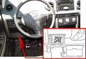 2006 Scion Xa Fuse Diagram : fuse box diagram scion xa 2004 2006 ~ A.2002-acura-tl-radio.info Haus und Dekorationen