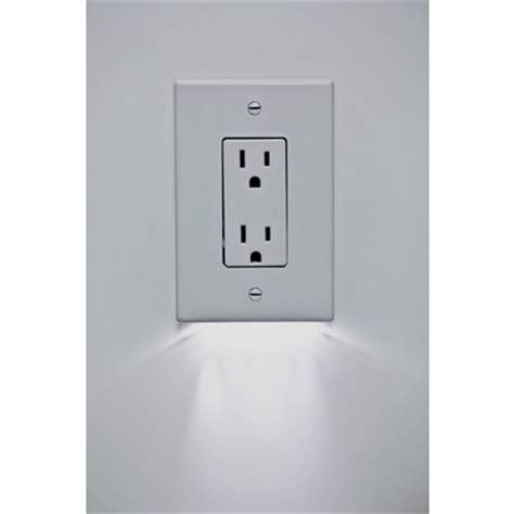 outlet plate night light led lite solutions wayfinder 24 7 led night light switch