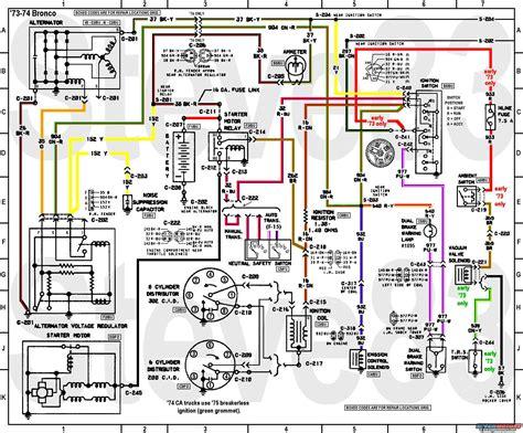 ford bronco tech diagrams picture supermotorsnet