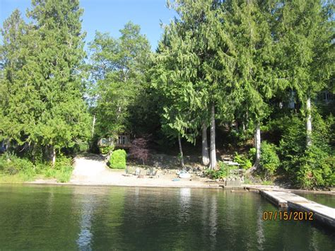 Budget Car Rental Alberni by Lakefront Cabin Year W Vrbo