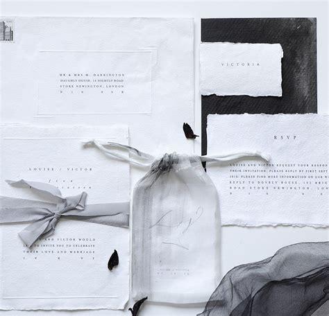 fine art paper  stationery  wedding invitations