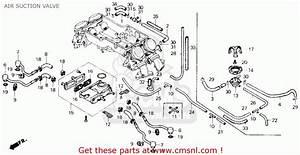 Honda Gl1200a Goldwing Aspencade 1987  H  Usa California