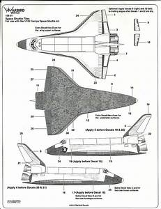 Review  Space Shuttle Tile Decals