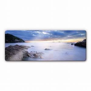 Tableau En Verre : tableau en verre baie wall ~ Melissatoandfro.com Idées de Décoration