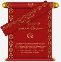 indian wedding invitations scroll hindu invitation studio design gallery best design