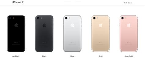 new iphone 7 plus rosegold 256gb iphone 7 color range what are your options 72964