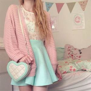 Cute outfit pastel teen fashion | Style u2662 Fashion u2661DIYu2661 | Pinterest | Teen fashion Pastels and Teen