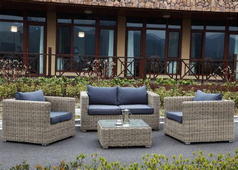 salon de jardin haut de gamme resine tressee qaland