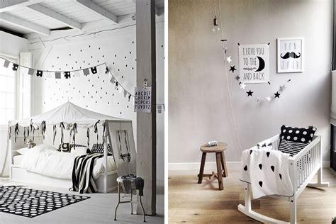 deco de chambre noir et blanc chambre enfant déco noir et blanc e interiorconcept