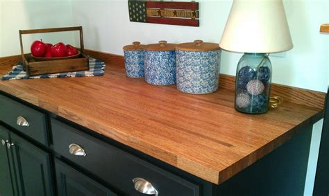This Is A 5 Foot Unfinished Red Oak Butcher Block Top That