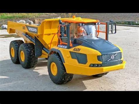 bruder truck volvo ah dumper  rc buggy long play