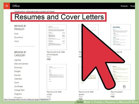 ways  create  resume  microsoft word wikihow