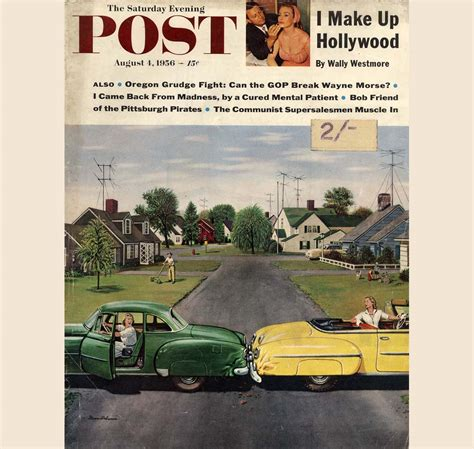 lpost or l post saturday evening post covers stevan dohanos