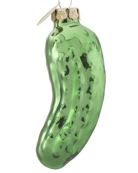 pickle personalized ornament