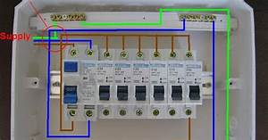 Electrical Page  Distribution Board Wiring Diagram