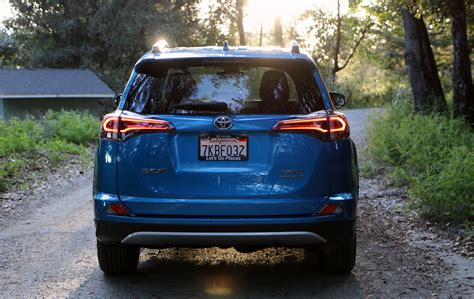 2016 Toyota RAV4 Interior gauge cluster   The Truth About Cars