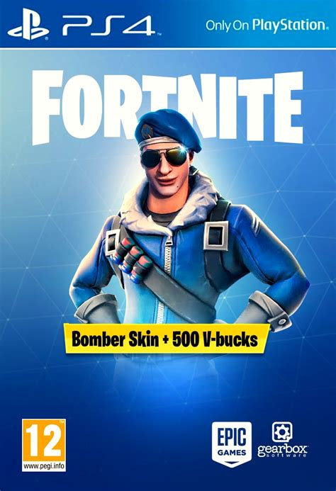 acheter fortnite bomber skin   bucks ps playstation