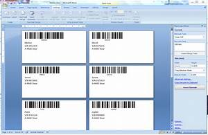 identifying objects by tec it how to print barcode With how to set up label template in word