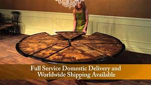 Jupe Tables for Sale, Expandable Round to Round with Self