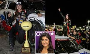 Hailie Deegan becomes first female to win NASCAR K&N Pro ...