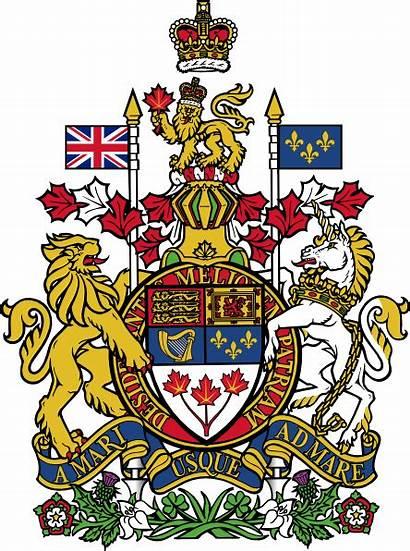 Arms Coat Canada Clip Vector Svg Check